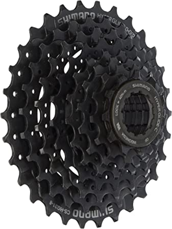 SHIMANO CS-HG41 HYPERGLIDE 8 SPEED---11-34T MTB BICYCLE CASSETTE-WITH PACKAGE