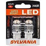 SYLVANIA ZEVO 7443 T20 Red LED Bulb, (Contains 2 Bulbs)