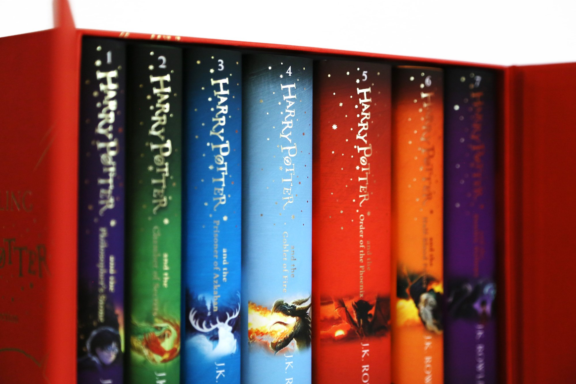 Pack Harry Potter - The Complete Collection: Amazon.es: Rowling ...