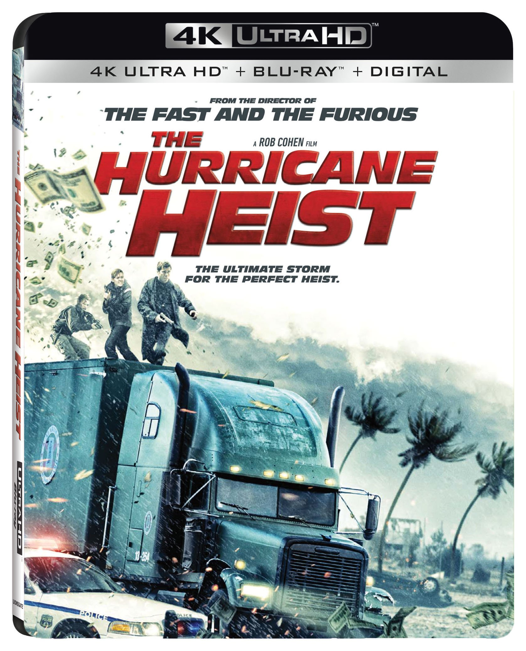 4K Blu-ray : The Hurricane Heist (With Blu-Ray, 4K Mastering, 2 Pack, Widescreen, Dolby)