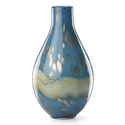 Amazon Lenox 845441 Seaview Horizon Bottle Vase Home Kitchen