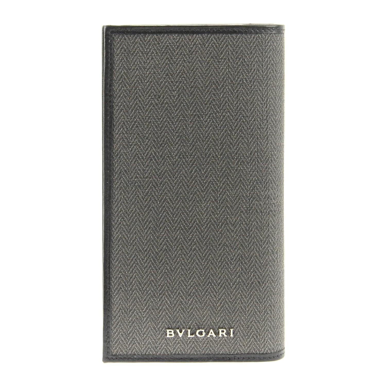 new concept 715e3 9ab84 Bvlgari Wallet 32582 Canvas/blk: Amazon.co.uk: Clothing