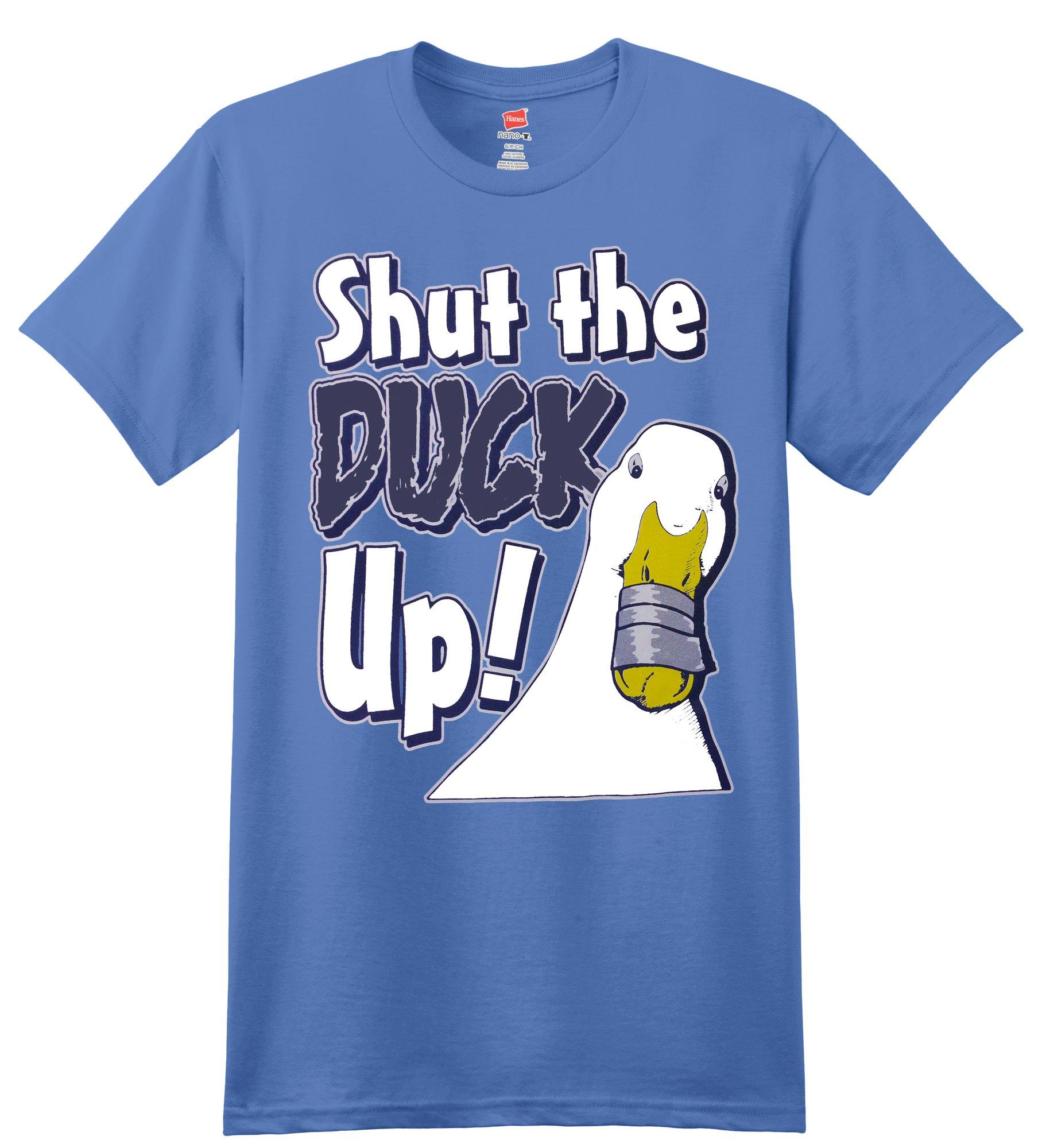 Fantastic Publiciz S Aflac Duck Shut The Duck Up Parody Funny Shirts