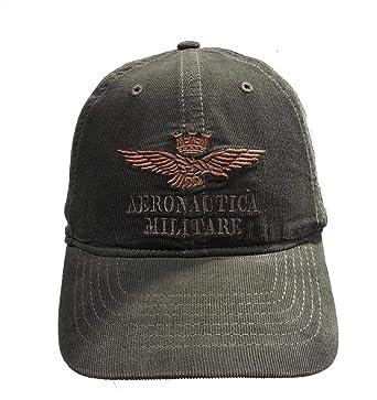 à vendre emballage fort magasin en ligne Aeronautica Militare - Casquette de Baseball - Homme Vert ...