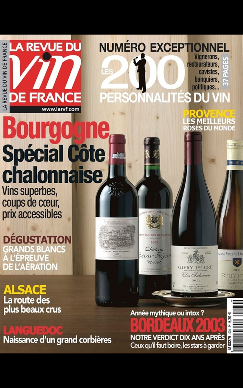 La revue du vin de france appstore for android for Revue des vins de france