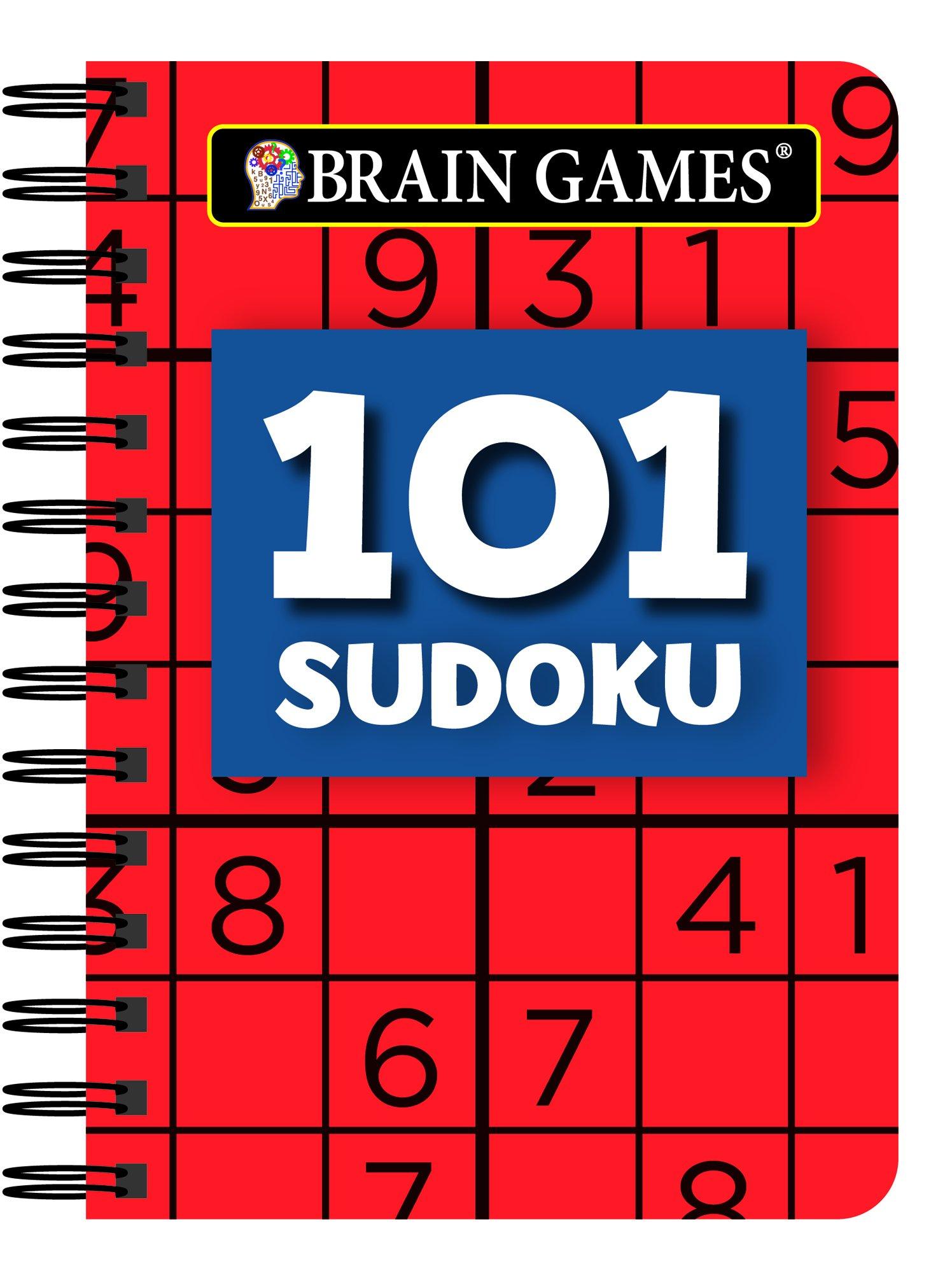 Amazon.com: Brain Games Mini - 101 Sudoku (9781680229387): Publications  International Ltd.: Books