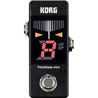KORG KO-PBMINI PB-Mini Pitchblack Mini Pedal Tuner with Large LED Screen, Black