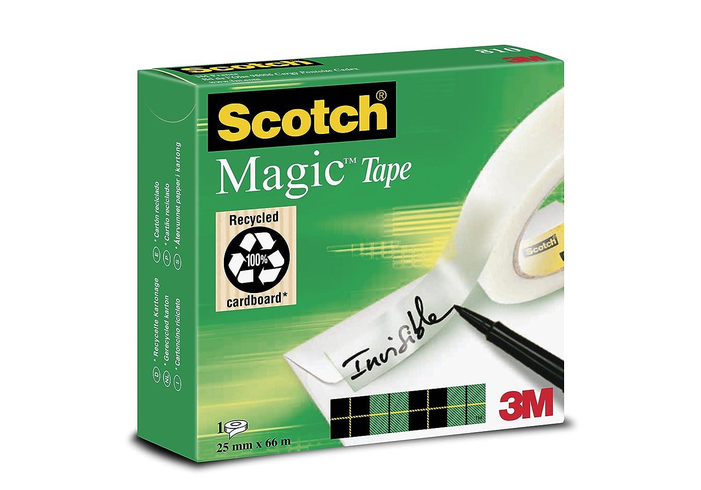 Scotch Magic Type Nastro Adesivo 3M, 25 mm x 66 m, 1 Pezzo FT510005679