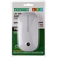 Taschibra 15130001, Luz Guia Colors LED com Sensor, 1 W, Branco