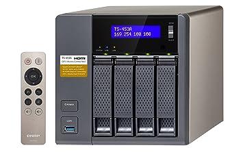 QNAP TS-453A-4G 4 Bay NAS Enclosure with 4GB RAM