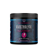 Electrolyte Powder, Blue Raspberry Hydration Supplement: 90 Servings, Carb, Calorie & Sugar Free, Delicious Keto Replenishment Drink Mix. 6 Key Electrolytes - Magnesium, Potassium, Calcium & More.