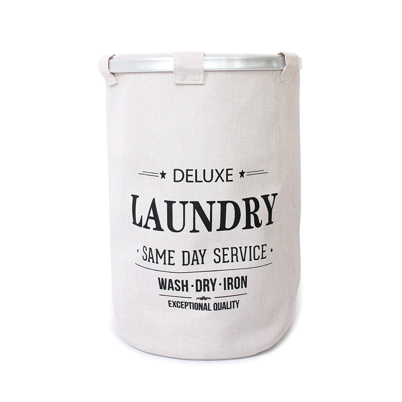 40 x 40 x 57 cm Misure ca LxWxH LaundrySpecialist/® CESTA per LA Biancheria per Raccogliere Il bucato 40 cm Sezione ca
