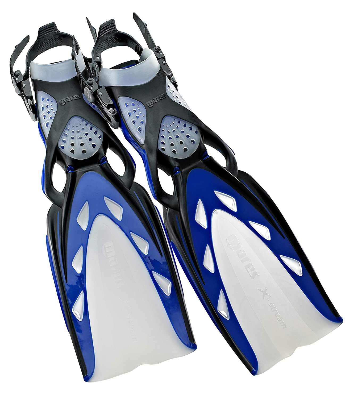 Fins B0032K4KYC Fins 【並行輸入品】Mares/マレス X-Stream Small) (青, Open Heel