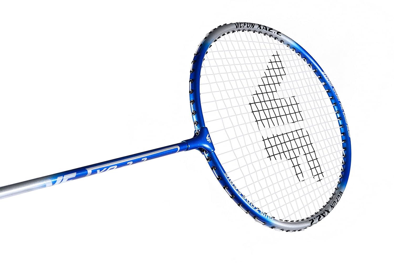 One Size Plata//Azul Victor Uni Set de b/ádminton 1/x VICFUN XA 2.2/Racketbag 3/x Nylon Pelota Raqueta de b/ádminton