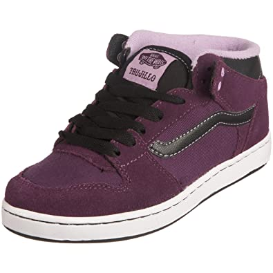 215f66b31f Vans Women s Tnt Ii Mid Cup Purple black Trainer VKXSPCA . 055 3 UK ...