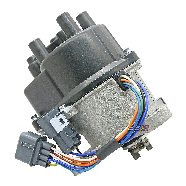 Amazon.com: Electronic Ignition Distributor Fits For Honda Civic CRX Del  Sol EG EH D15B D16Z6 SOHC VTEC OBD1 TD-42U: Automotive