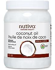Nutiva Organic Organic Virgin Coconut Oil, 54-Ounce/1.6L