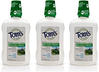 product image for Tom's of Maine Long Lasting Wicked Fresh Mouthwash, Cool Mountain Mint, 16 Ounce, 3 Count