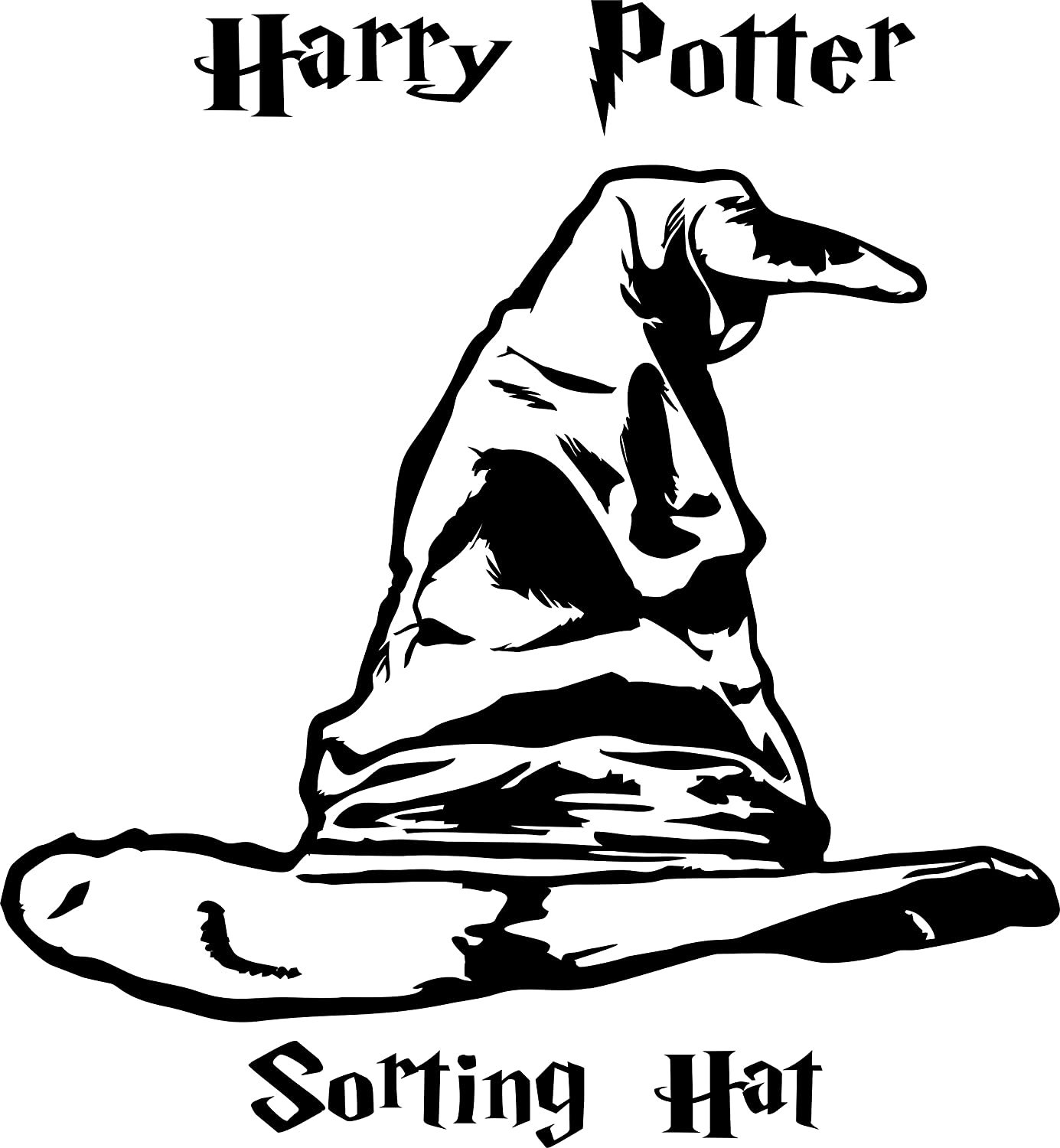 Harry Potter Sorting Hat Clip Art on shark wallpaper
