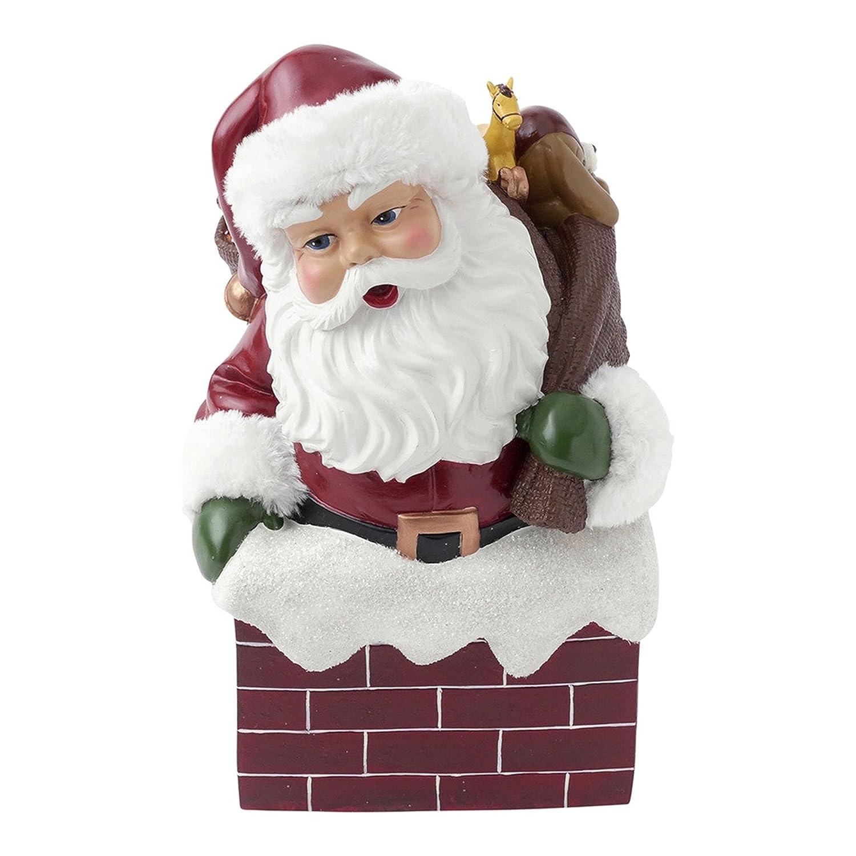大流行中! ホールマークホーム休日音楽ボックス in レッド Santa 1MJB4596 B01KGLUCIC 1MJB4596 Santa in Chimney, NetBabyWorld(ネットベビー):c0dcb575 --- arcego.dominiotemporario.com
