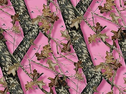 Amazon Mossy Oak Pink Camo Branch Edible Cake Topper Frosting 1