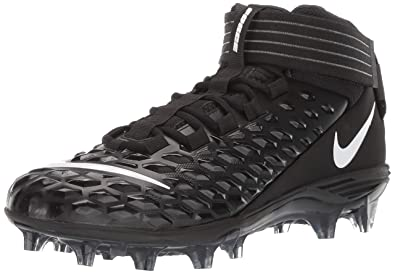 0fb89ffba4f1d Nike Men's Force Savage Pro 2 Football Cleat Black/White/Anthracite Size 7 M