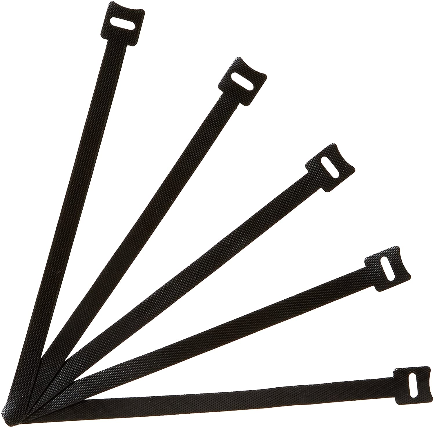 AmazonBasics Reusable Cable Zip Ties - 8-Inch, 50-Pack