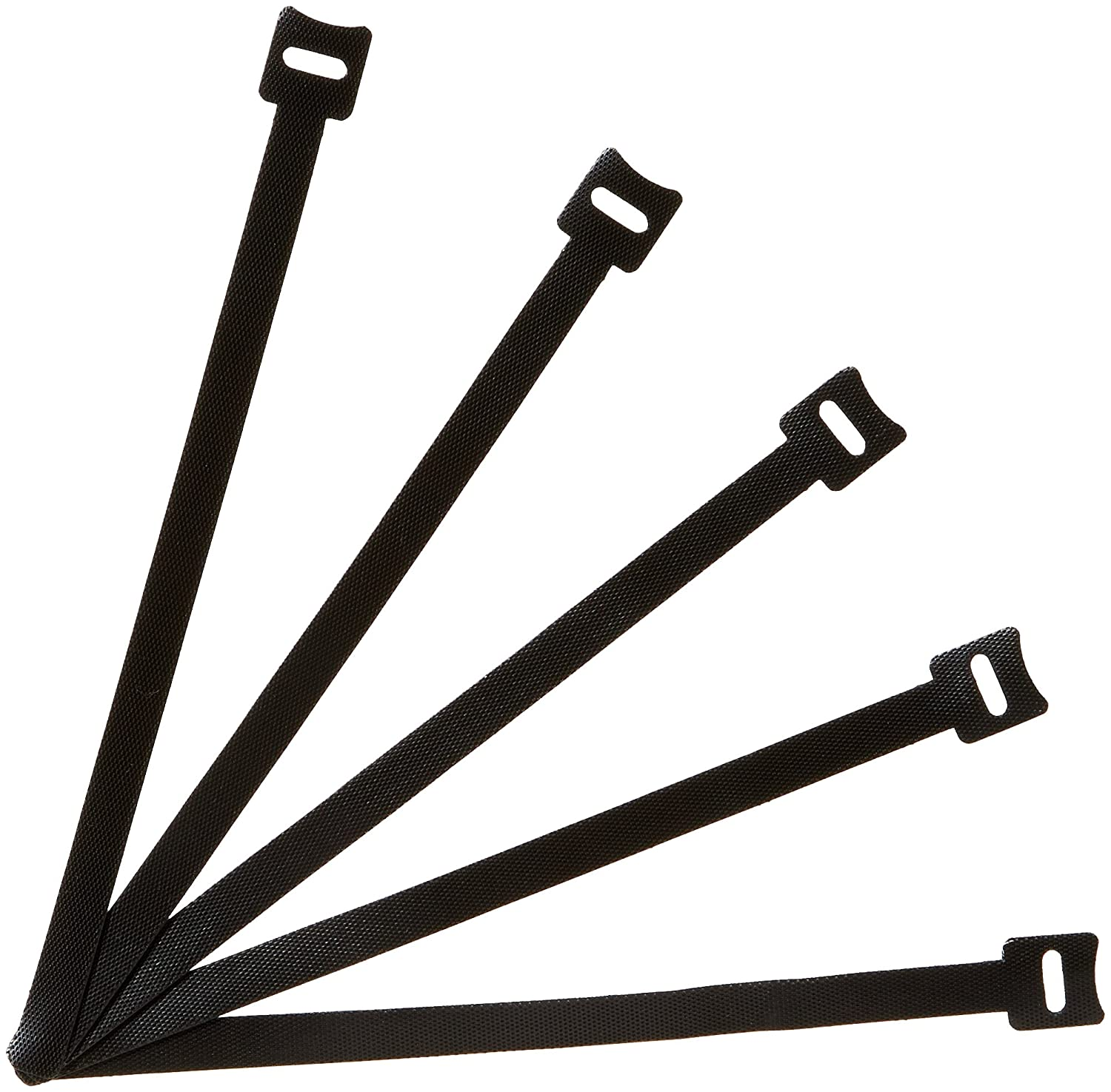 Basics Reusable Cable Ties - 8-Inch, 50-Pack AmazoBasics AMZ-RCT-8IN-50P