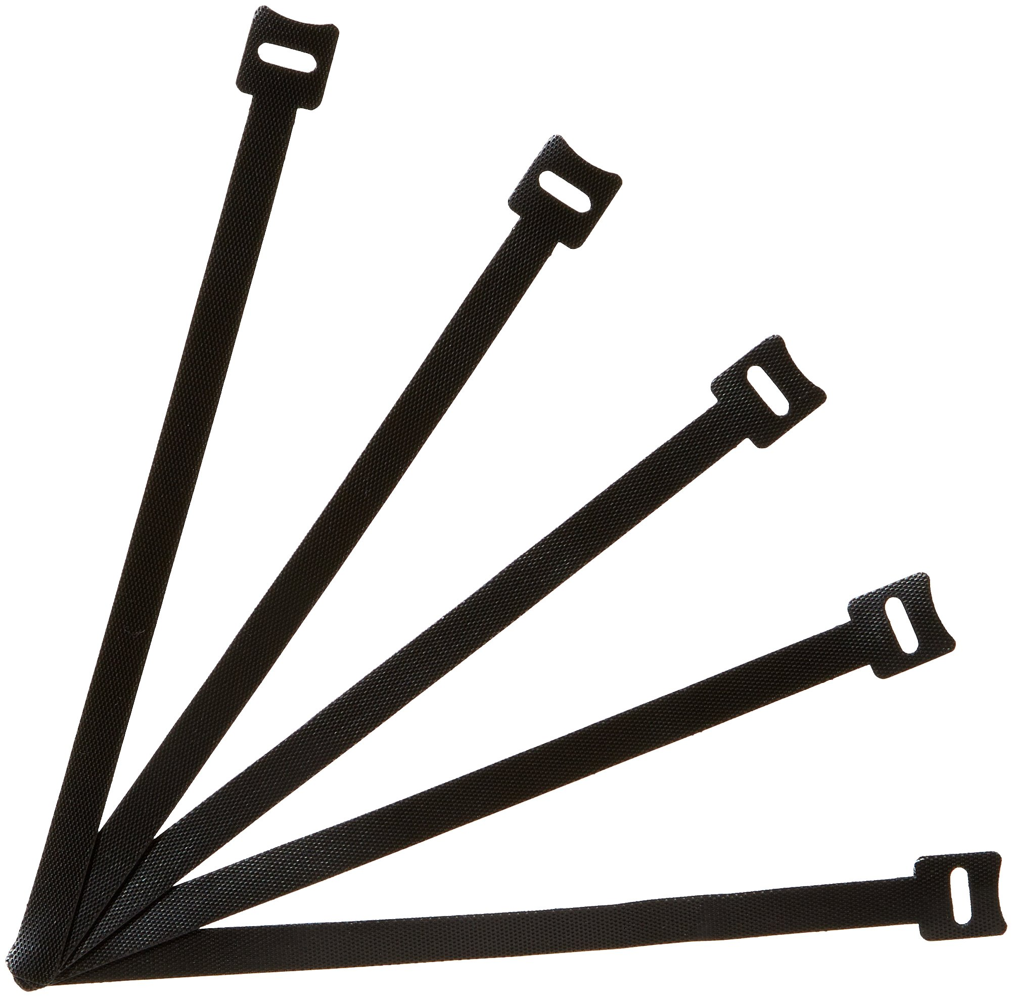AmazonBasics Reusable Cable Ties, 8 Inches, 50-Pack
