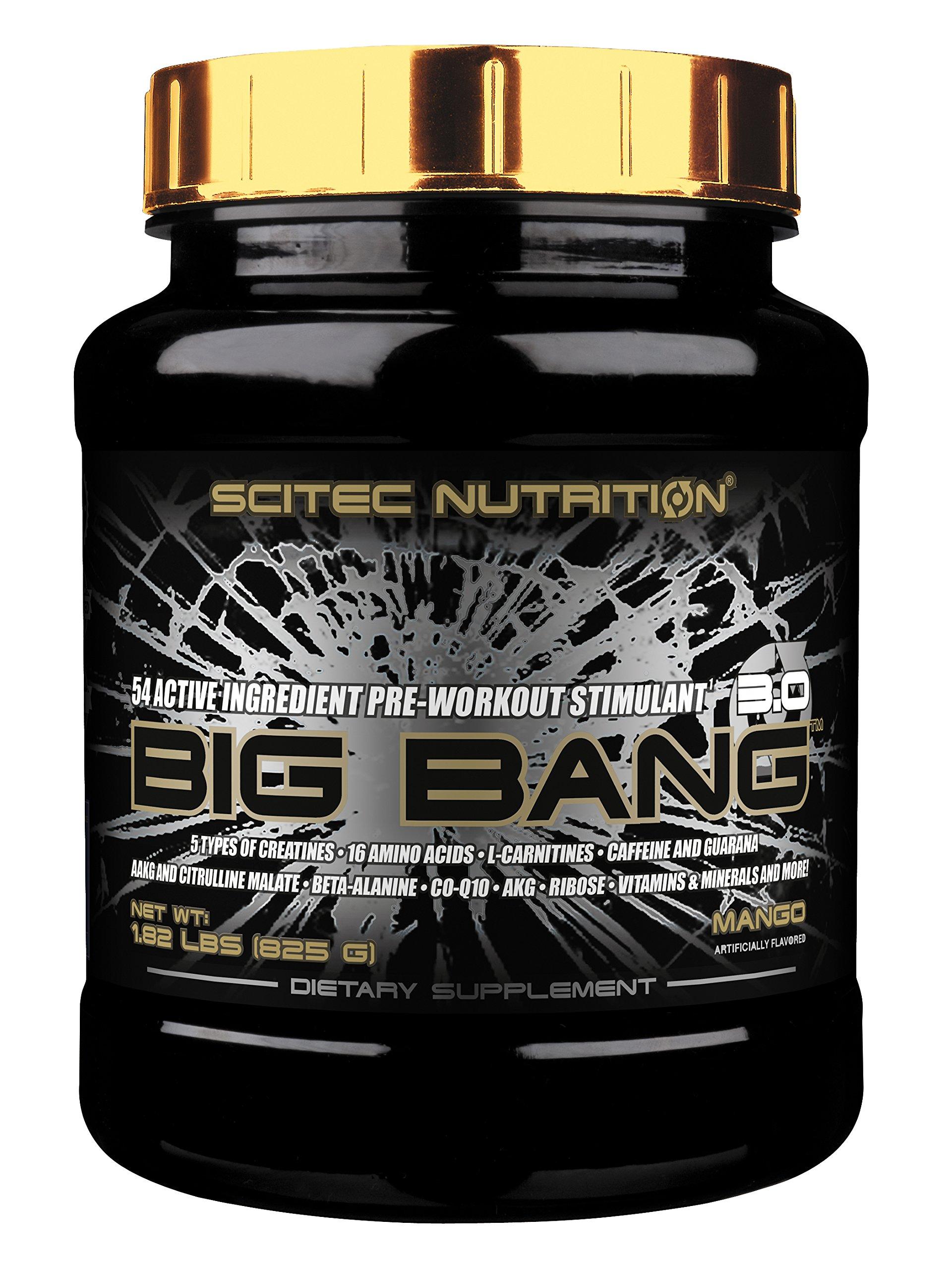 Scitec Nutrition BIG BANG - 1.82 Pound, Mango (Pre-Workout Stimulant)