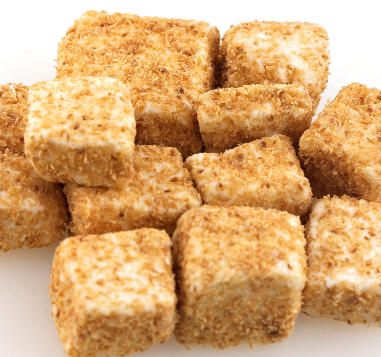 Toasted Coconut Marshmallows - 1 Lb Tub