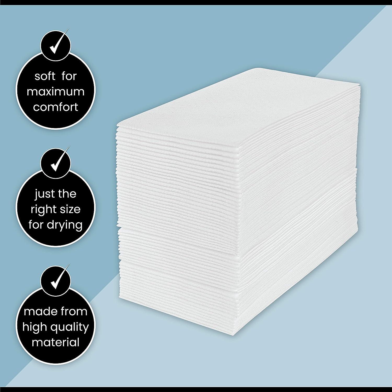 White Cloth-Like Towel Airlaid Linen-Like Bath Tissue for Kitchen ...