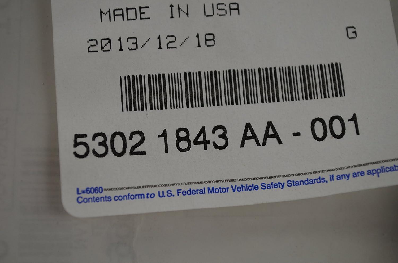 Mopar 5302 1843AA, Engine Valve Cover Gasket