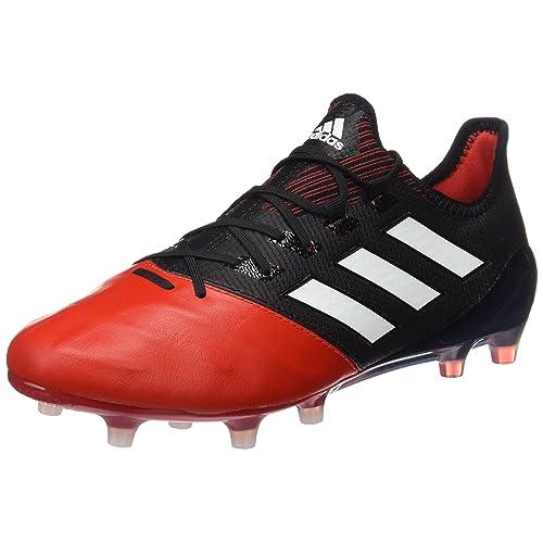 best service 4ab25 78e1e ... reduced adidas herren ace 17.1 leather fg futsalschuhe rot schwarz core  black ftwr 4d378 22941