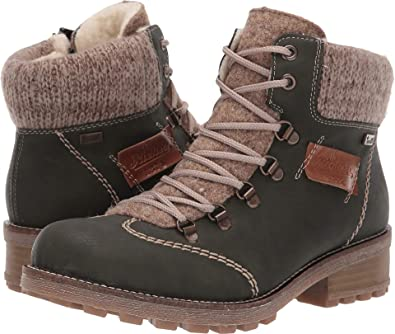 super popular 7067b bf843 Amazon.com | Rieker Womens Z0444 Swetlana 44 | Boots