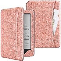 MoKo Case Fits All-New Kindle (10th Generation, 2019) / Kindle (8th Generation, 2016), PU Leather Smart Auto Wake/Sleep…