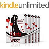 HEARTS OF THE WEST (5 Inspirational Historical Western Romances)