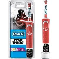 Oral-B Kids Cepillo Eléctrico Recargable con Tecnología de Braun, 1 Mango de Star Wars, Apto para Niños Mayores de 3 Años