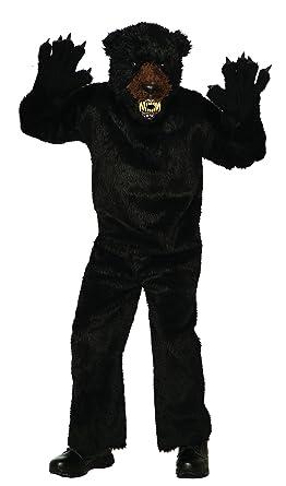 Amazon.com: Foro de los hombres Deluxe Scary Black Bear ...