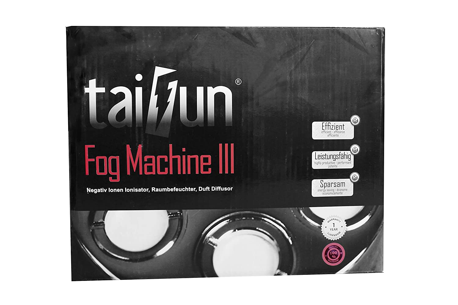 Taifun Nebler Fog Machine III 1200 ml/h inkl. Greenception Dünger 100g