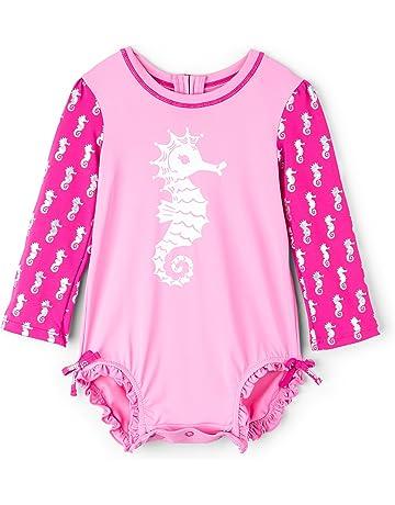 Hatley Baby Girls Mini Rashguard Swimsuit ddafa5558