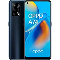 "OPPO A74 - Pantalla 6,43""(AMOLED FHD+, 6 GB RAM+ 128 GB Almacenamiento, Qualcomm Snapdragon 662, Cuádruple cámara 48++2…"