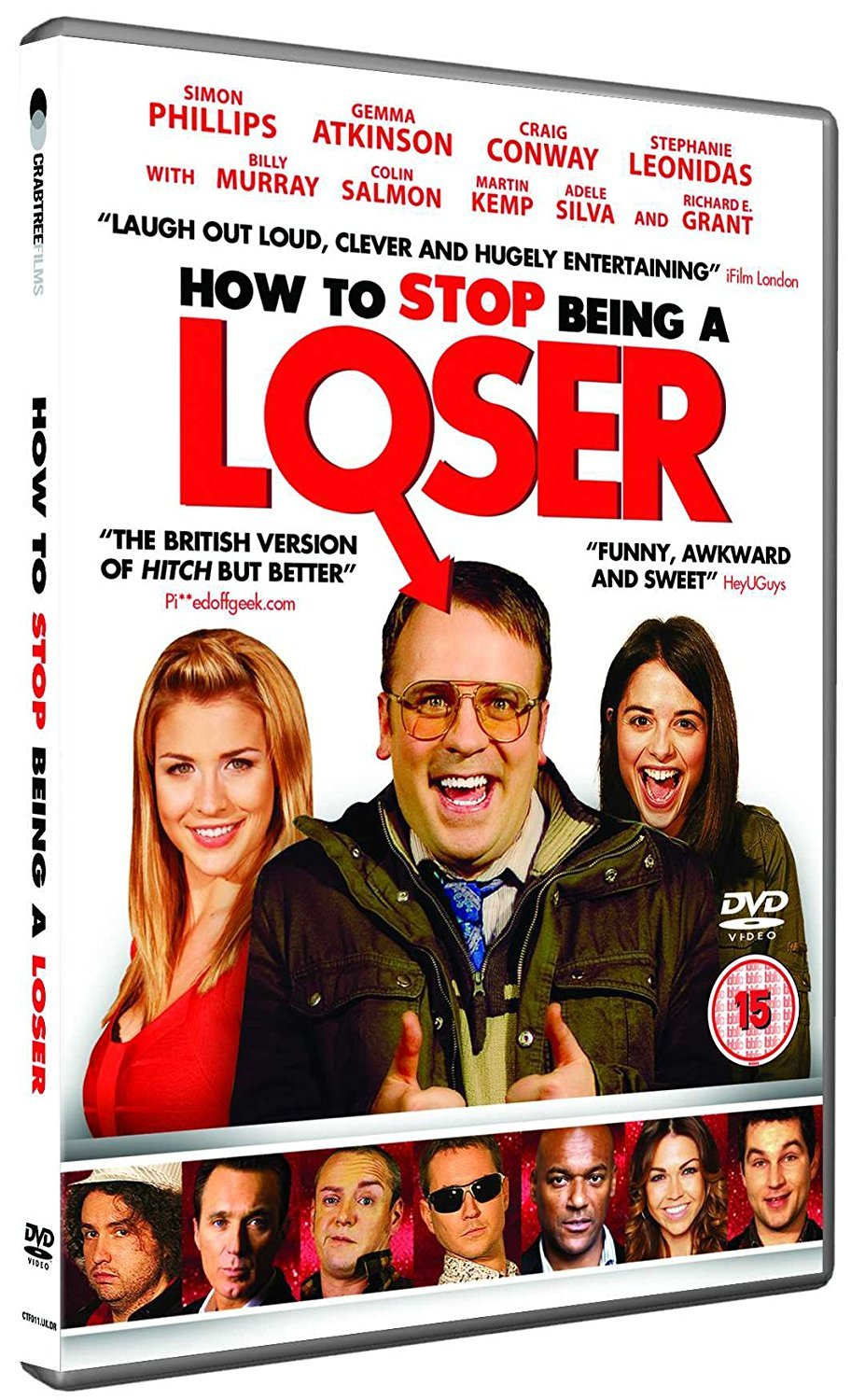 How To Stop Being A Loser Dvd Amazon Co Uk Simon Phillips Richard E Grant Martin Compston Gemma Atkinson Martin Kemp Billy Murray Dvd Blu Ray