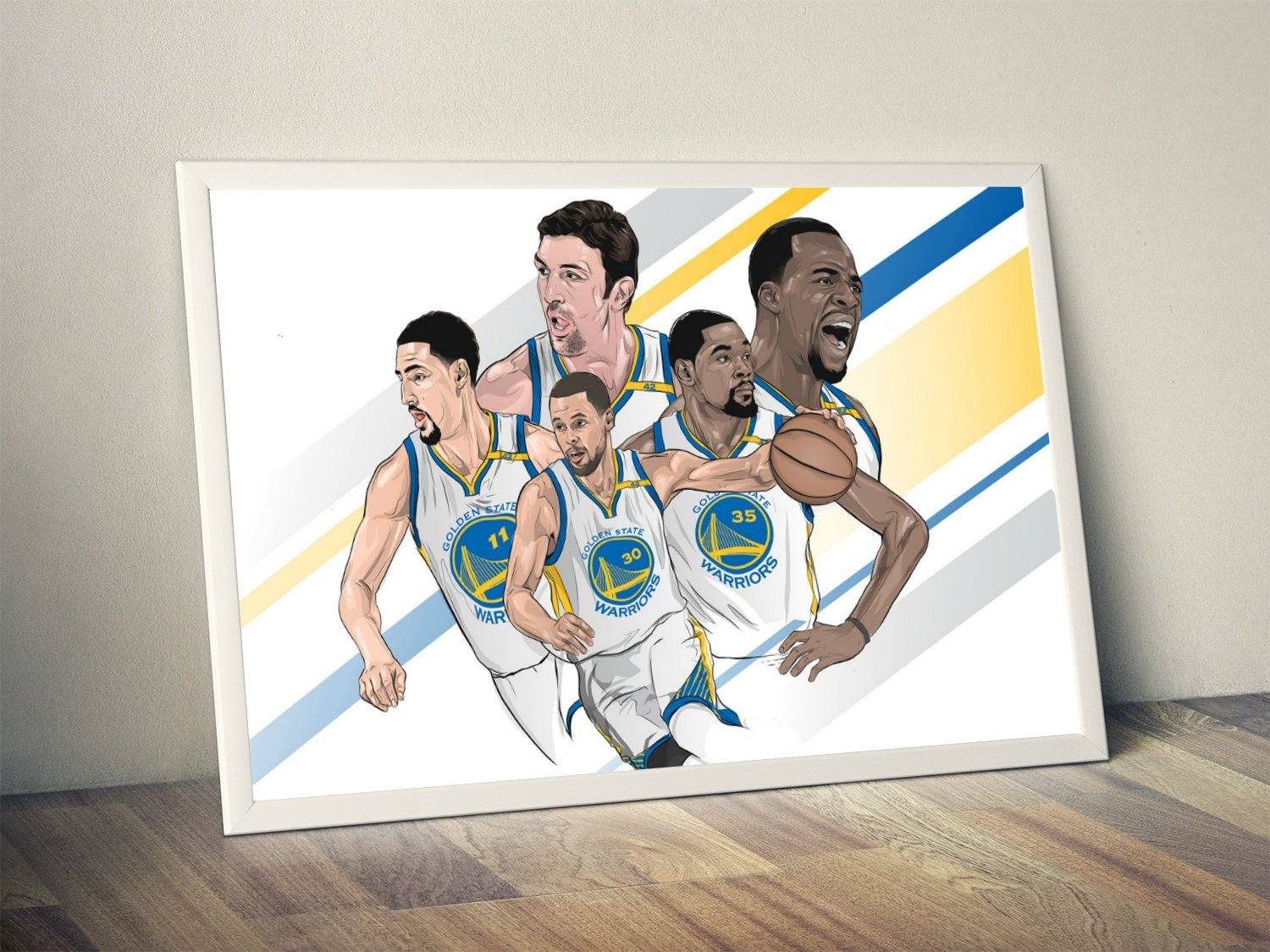 new product db505 39aa0 Amazon.com: Golden State Warriors Limited Poster Artwork ...