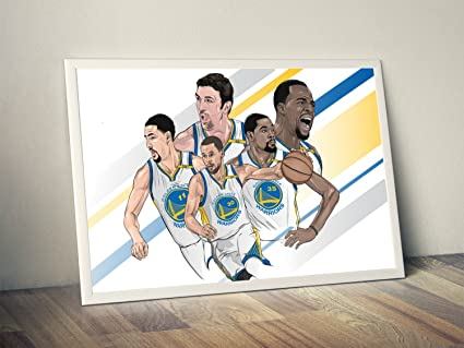 Amazon.com: Golden State Warriors Limited Poster Artwork ...