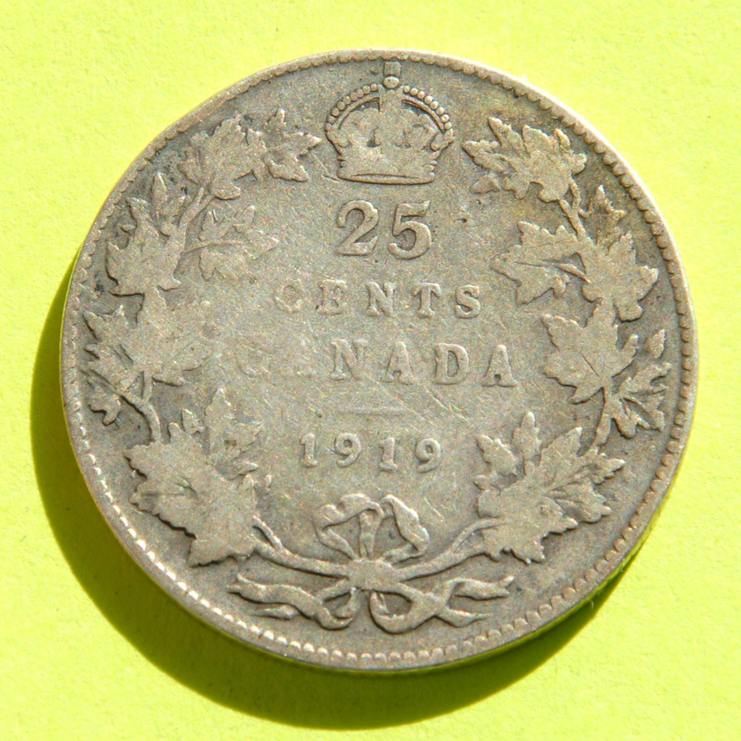 Careful Canada George V Silver 1933 Ten Cents Other Canadian Coins