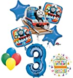 The Ultimate Thomas the Train Engine 3rd Birthday Party Supplies and Balloon Decorations