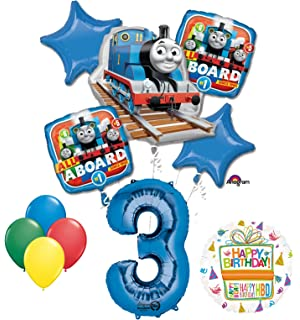 Mayflower Products The Ultimate Thomas Train Engine 3rd Birthday Party Supplies And Balloon Decorations