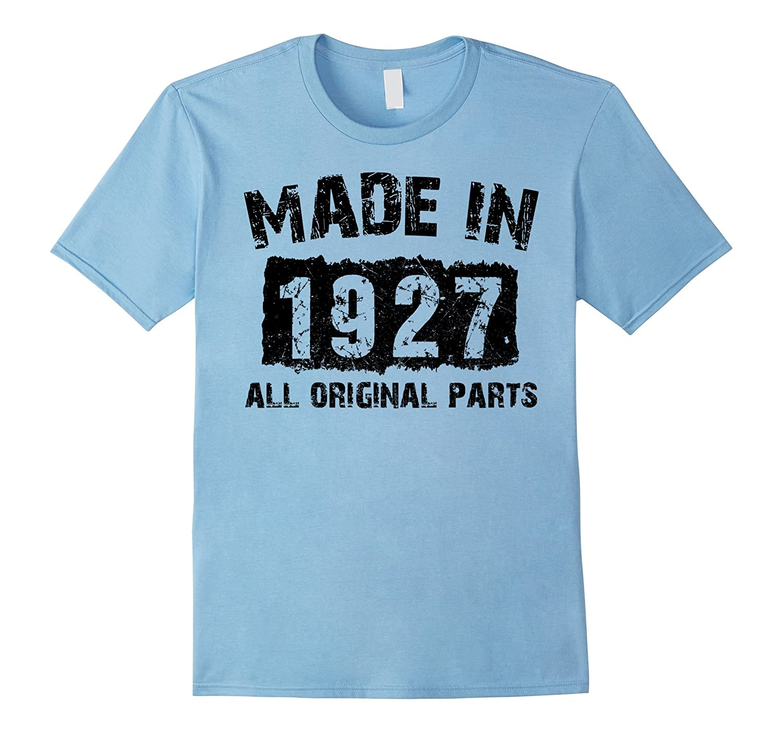 90th Birthday 90 Years Old 1927 T Shirt Vaci