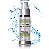 Retinol Serum for Proven Skin Treatment & Retinol Skin Rejuvenation Ageless looking skin with Vitamins A E Activates collagen rejuvenation retinol serum Anti-Aging Serum Moisturizer
